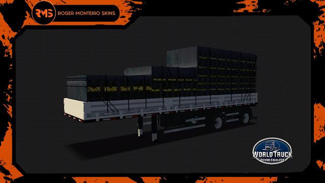 Carreta 2 eixos, Carretinha 2 eixos, Skins World Truck, Skins, Skins Wtds, Vanderleia