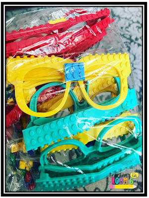 These LEGO glasses are perfect for doing a get to know you activity in upper elementary.
