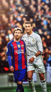 Lionel Messi and his rivalry Christiano Ronaldo.