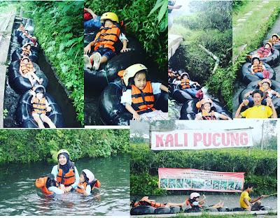 Serunya Tubing di Kali Pucung, Karanganyar