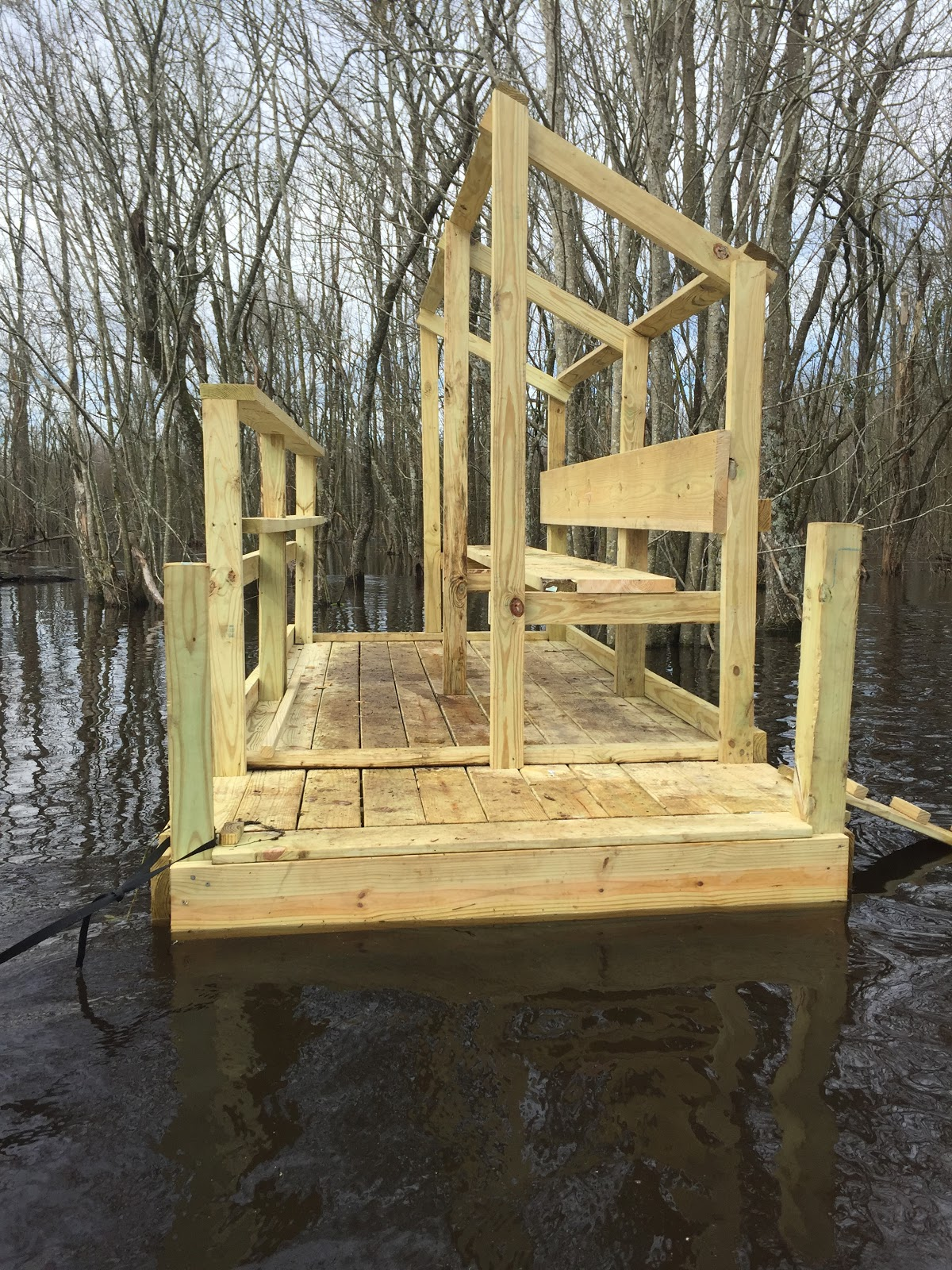 Bear Creek Plantation Nc Swamp Duck Blind Design Cadillac