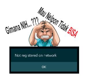 cara memperbaiki tidak terdaftar jaringan pada samsung
