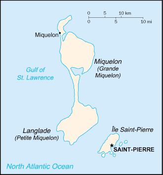 Saint-Pierre e Miquelon | Território da França