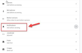 Cara menghilangkan notifikasi iklan popup di browser