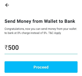 How to Send Money in Bank through Paytm