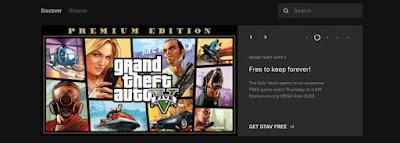 GTA V Epic Games Store Free