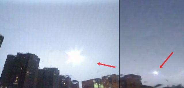 UFO News ~ Huge UFO hovering off coast Saint Pierre, Réunion plus MORE Bright-ufo-russia