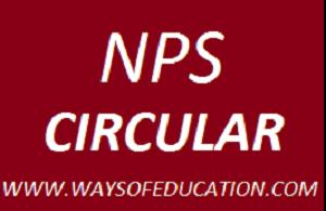 NPS SYSTEM CIRCULAR DT:-31-08-2018