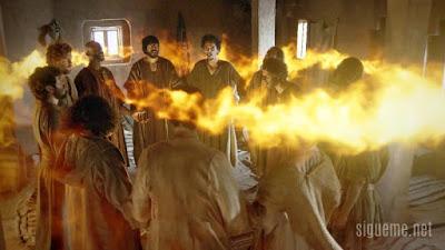 A descida do Espírito Santo sobre os crentes