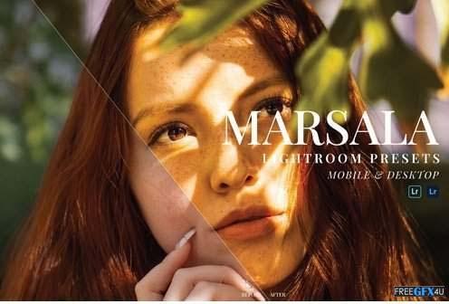 Marsala Lightroom Presets