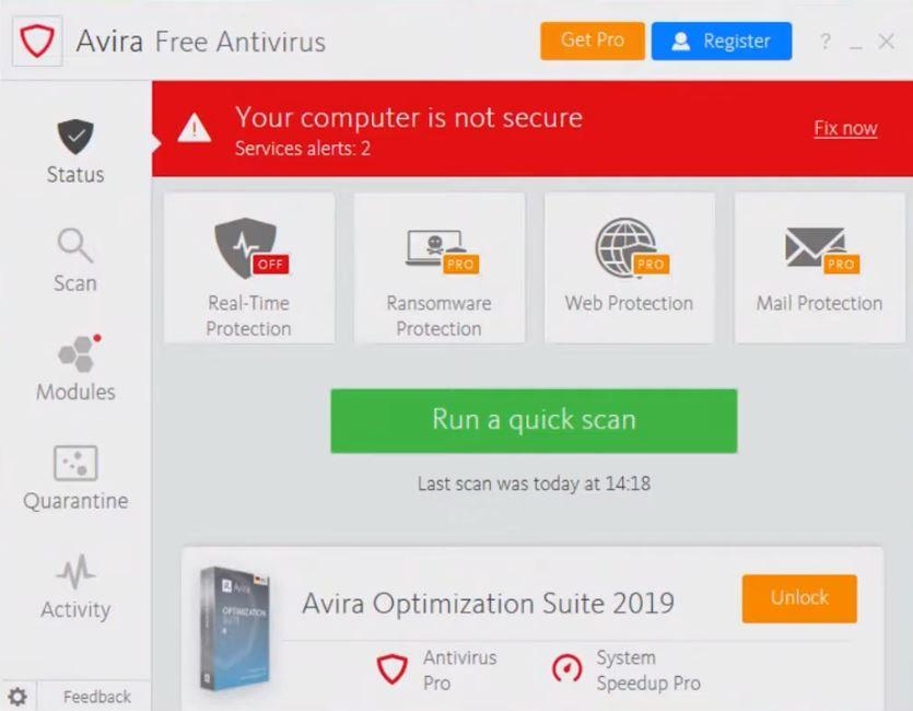 antivirus for pc free download