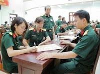 Thông tin mới nhất tuyển sinh vào các trường quân đội 2019