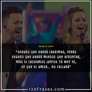 Frases de Sandy & Junior 04