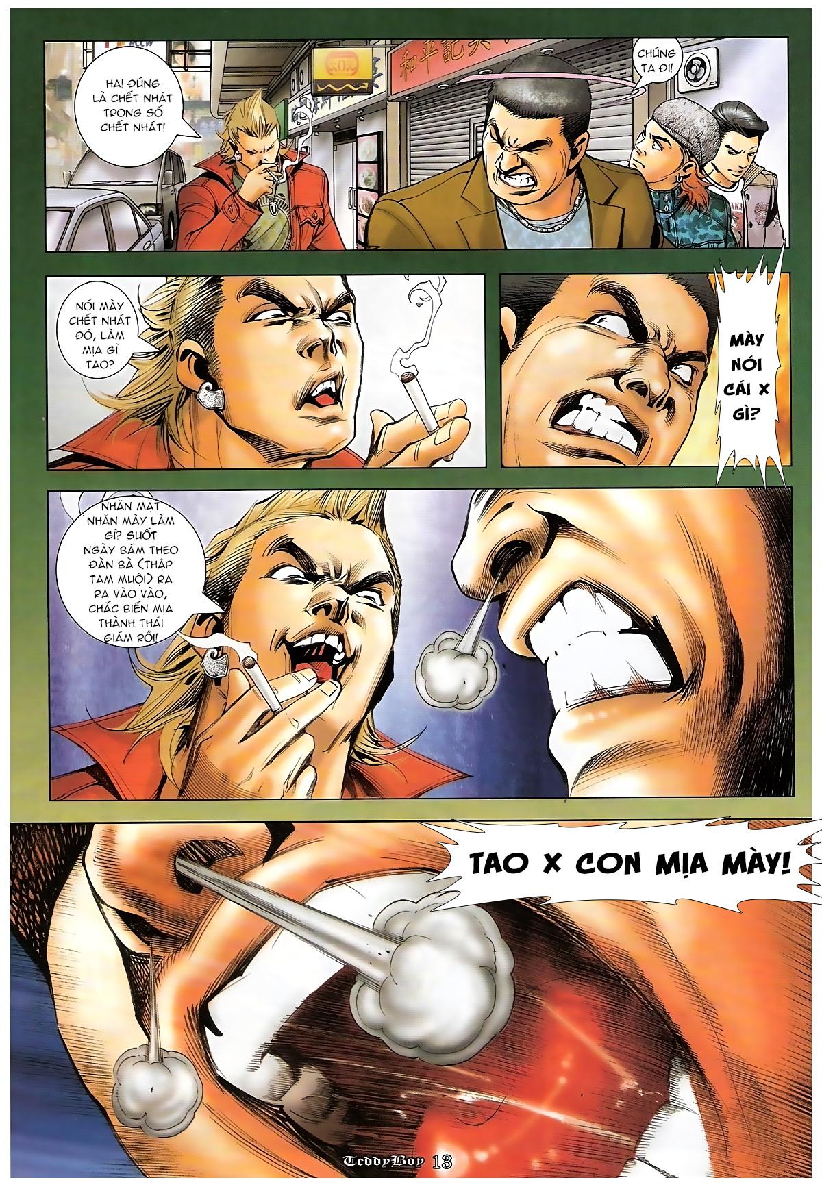 Người Trong Giang Hồ - Chapter 1266: Xin chiều tới cùng - Pic 11