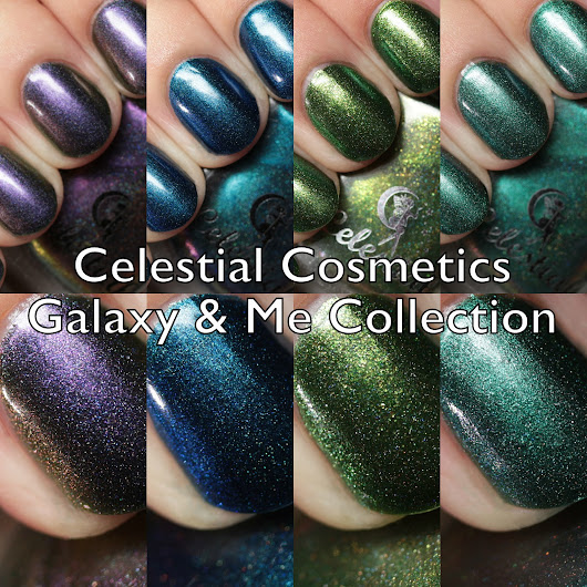 Celestial Cosmetics Galaxy & Me Collection Swatches and Review Part 2