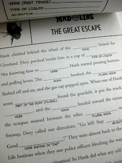finding dory mad libs