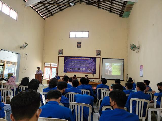 Mahasiswa KKN UMP Gelar Pengajian Akbar di Balai Desa Pringtutul Kebumen