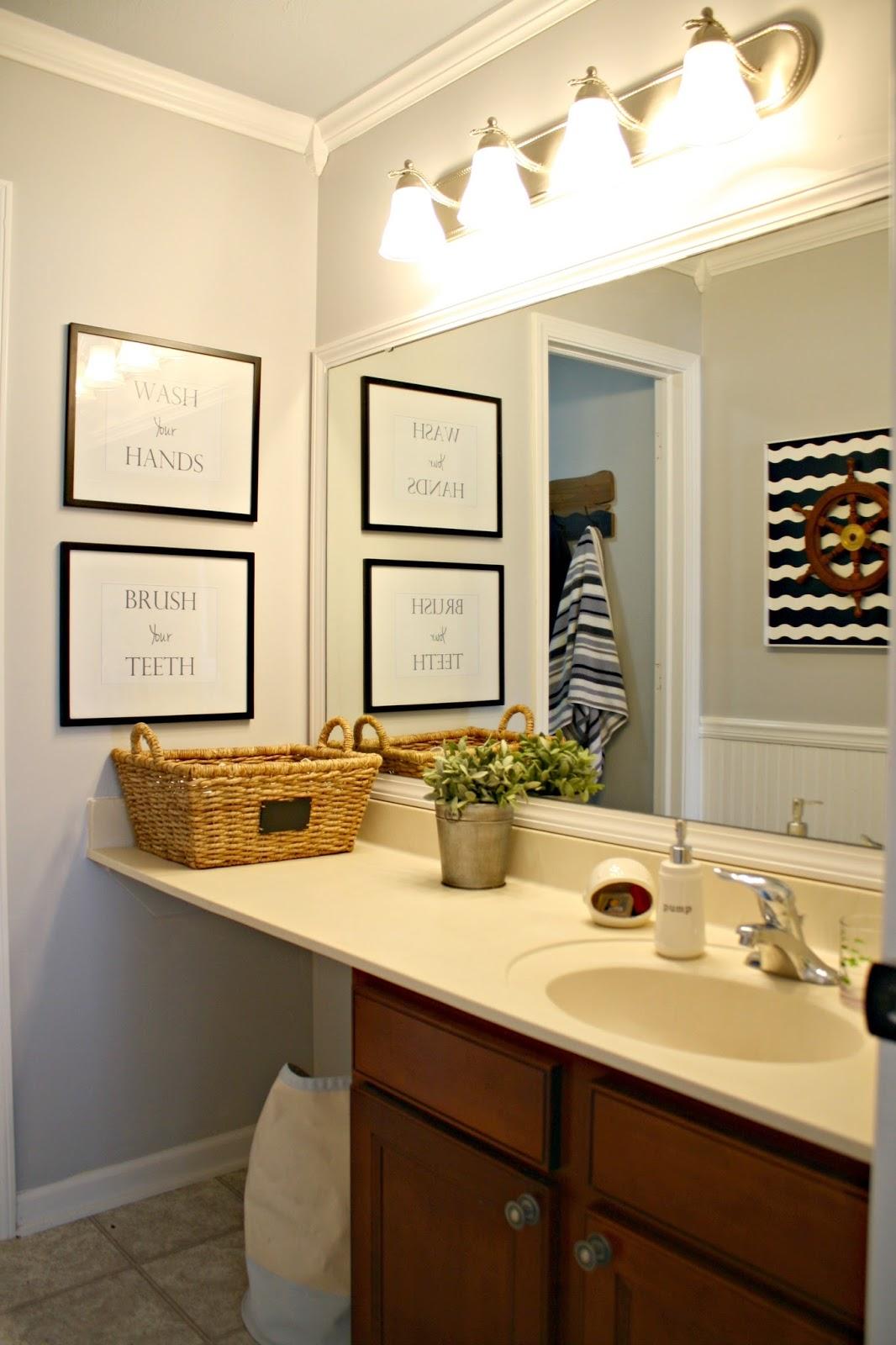 easy bathroom makeover