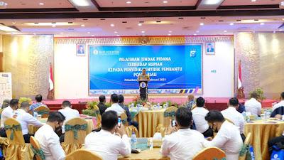 Jabarkan Program Prioritas Kapolri: Krimsus Polda Riau dan BI Lakukan Pelatihan Tindak Pidana Terhadap Uang Rupiah