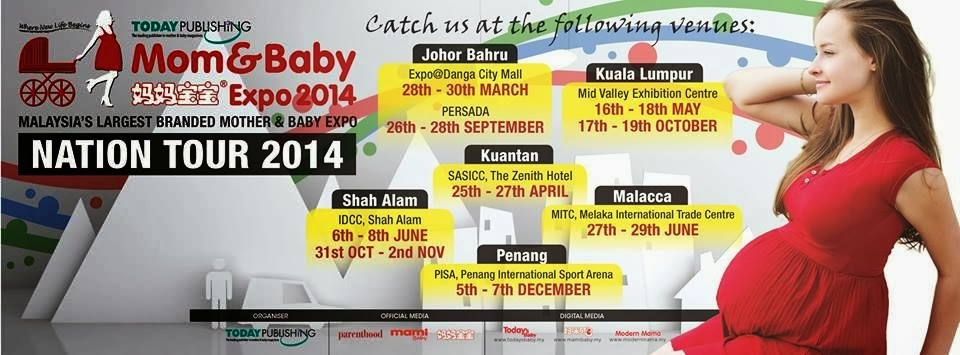 The Mom&Baby Expo 2014 Schedule
