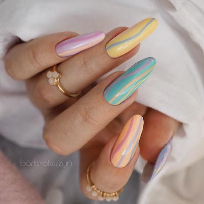 pastels nails