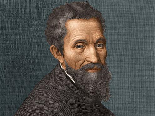 Capilla Sixtina de Miguel Ángel (Imagen encabezado Retrato de Miguel Ángel)