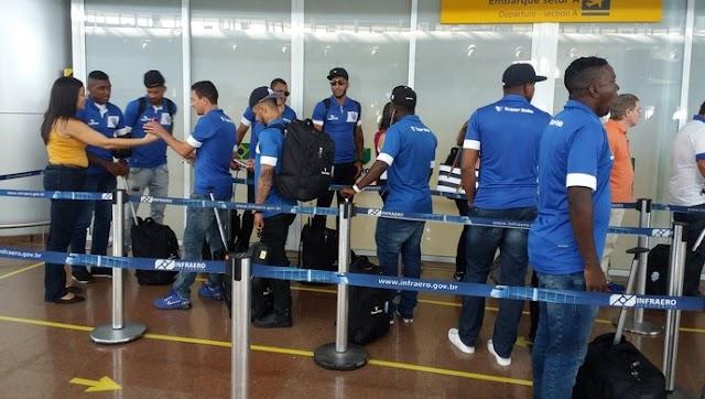 Rumo ao título: CSA embarca para o Rio de Janeiro