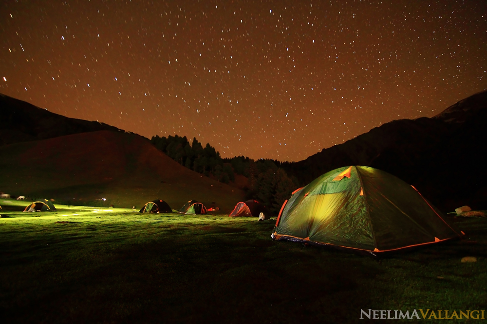 Camping in Kashmir