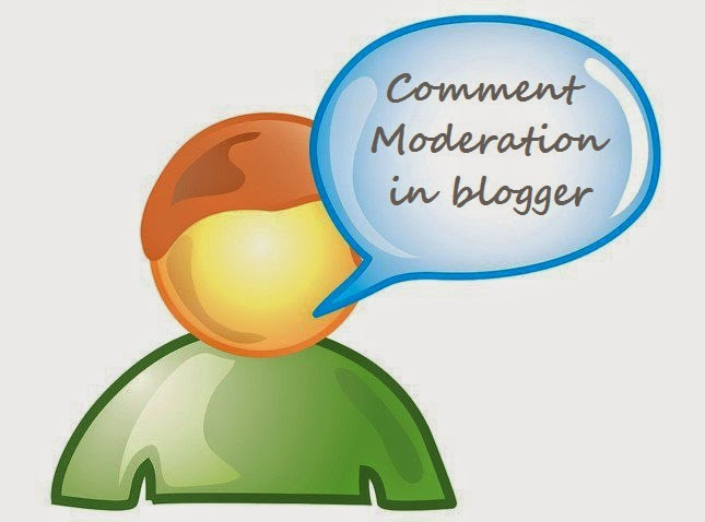 How to enable comment moderation in blogger | 101helper