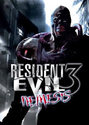 Capa do Resident Evil 3: Nemesis