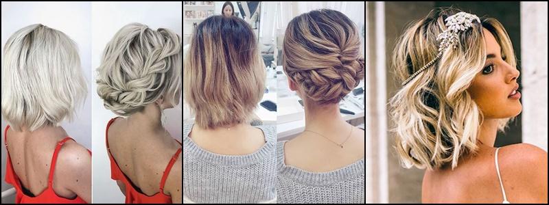 Fryzury dla osób z krótkimi włosami