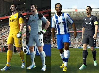 PES 2013 Porto 16/17 kits UPDATE v2