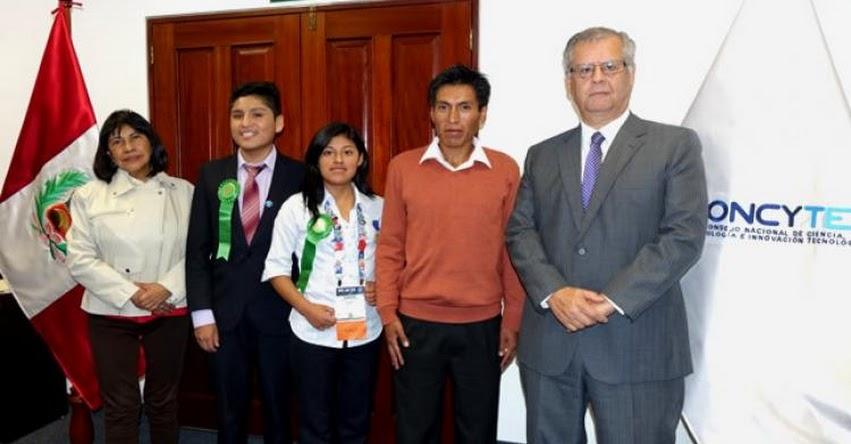 MINEDU: Escolares peruanos fueron premiados en Feria Internacional de Ciencia e Ingeniería - www.minedu.gob.pe