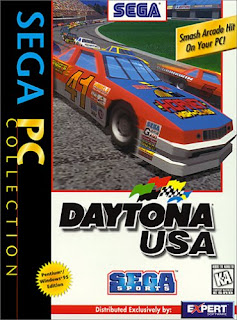 Daytona USA PC cover art