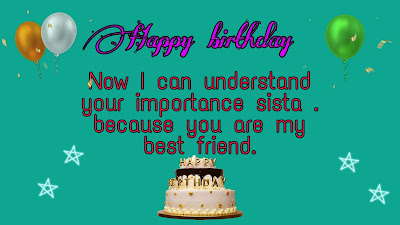 Birthday wishes to cousin sister