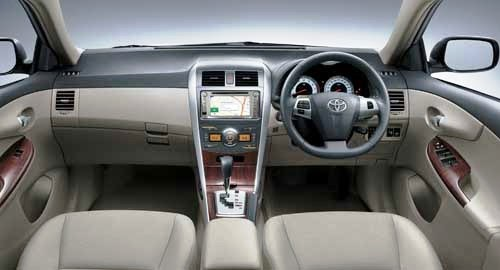 Interior Mobil Sedan All New Corolla Altis, Mobil Sedan Corrolla