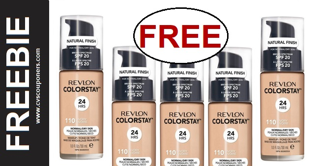FREE Revlon Foundation at CVS 1-5-1-11