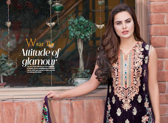 Shaista-latest-silk-velvet-dresses-winter-collection-2016-2017-for-women-3