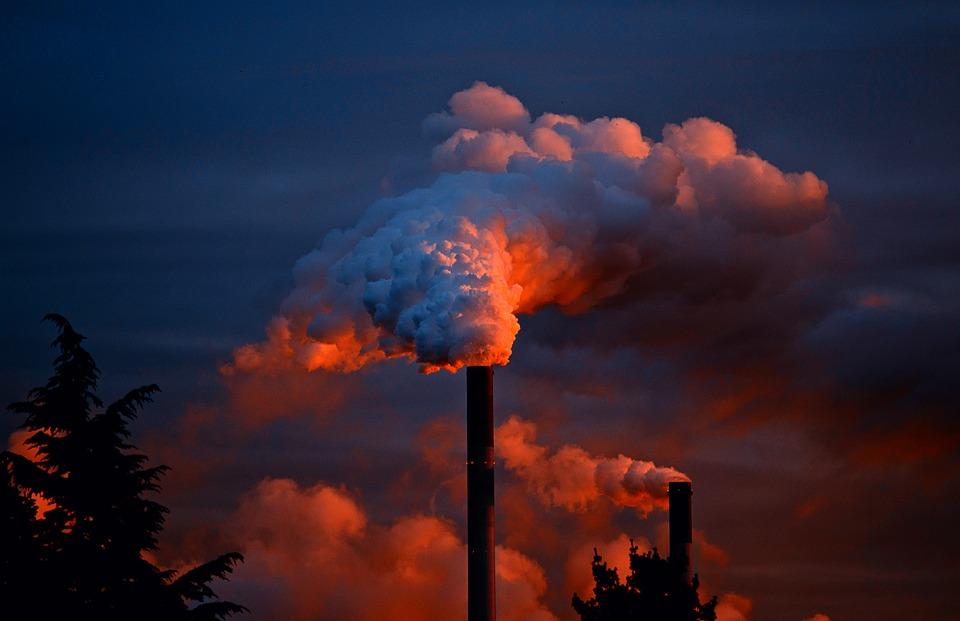 Poluição no ar