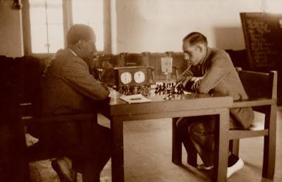 Partida de ajedrez Dr. Vallvé –Ribera, Reus-1936