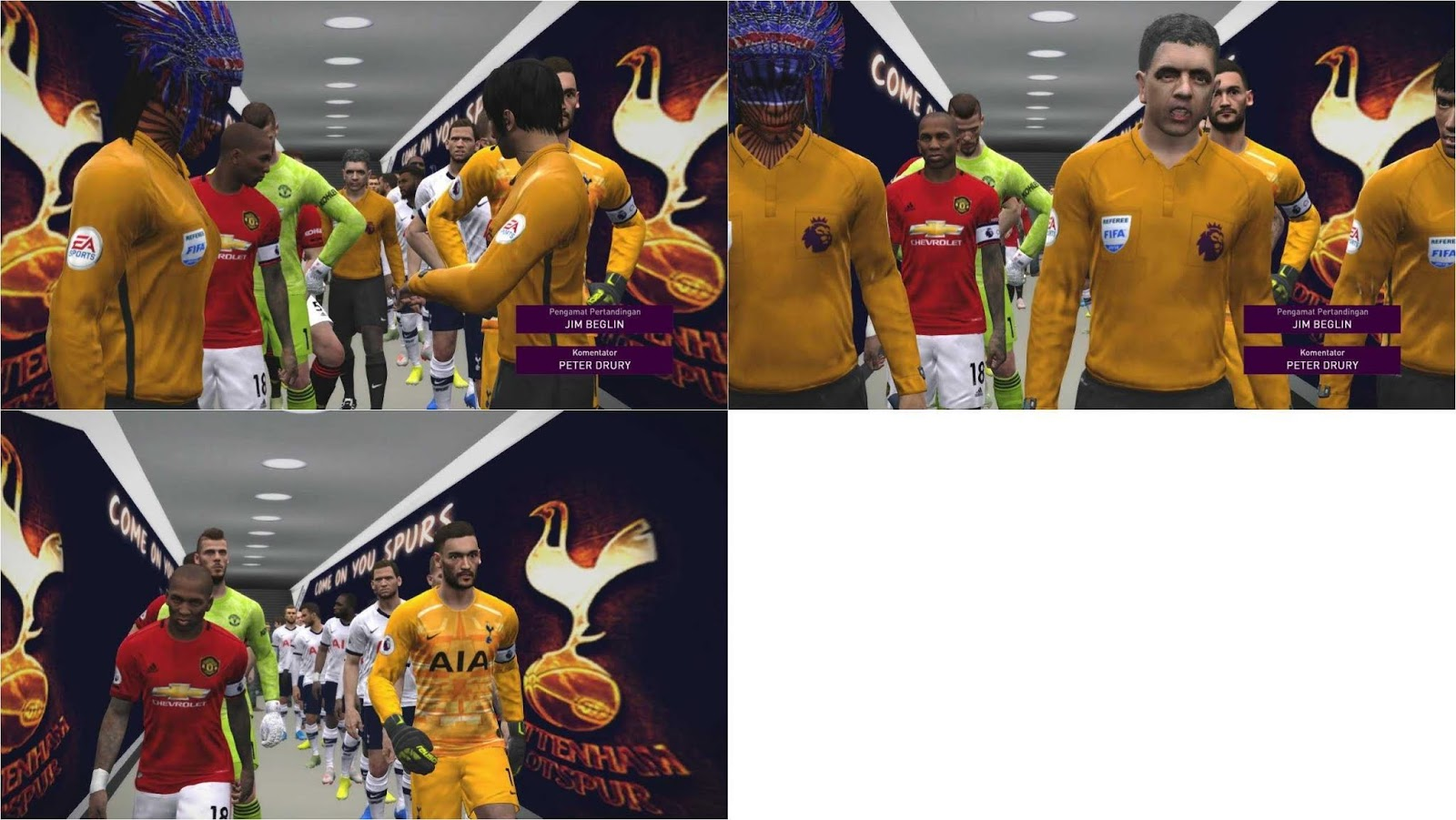 PES 2017 Tottenham Tunnel by RND Creative PES