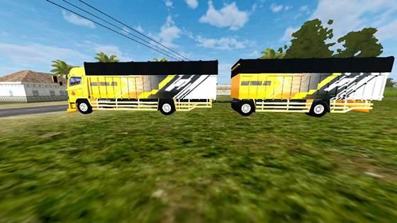 mod truck bussid hino 500 gandeng