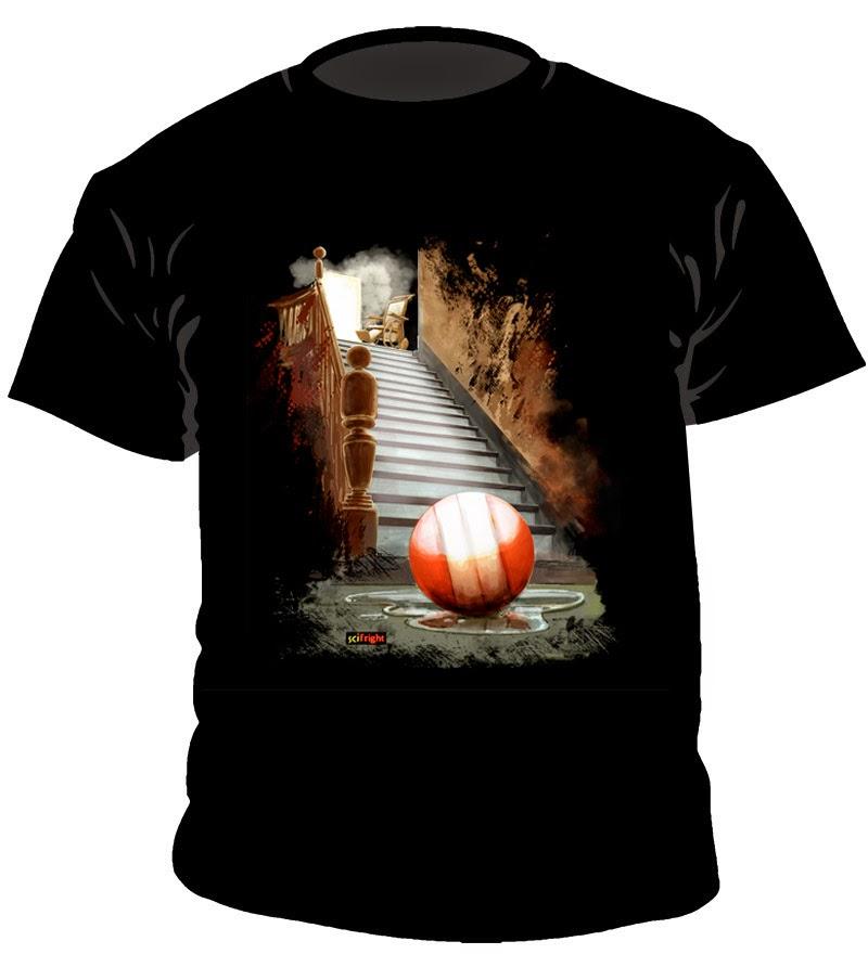 camiseta dedicada a esta soberbia película de terror