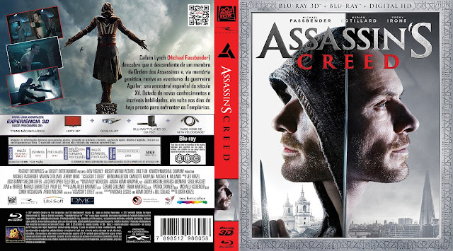 Capa Bluray Assassins Creed (2D e 3D) [Exclusiva]