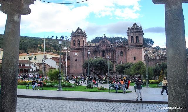 Praça de Armas e Catedral de Cusco