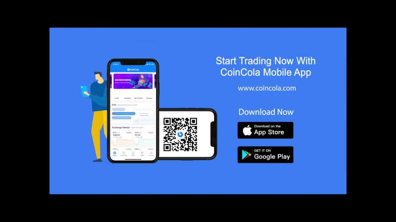 CoinCola ANDRIOD APPLICATION DOWNLOAD