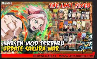 Download Naruto Senki Mod Sakura War Apk terbaru 2021