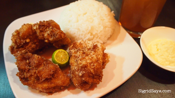 Bacolod Japanese restaurant - Bacolod restaurants - Izumi Japanese Kitchen