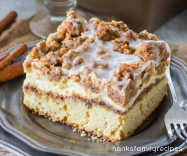 EASY BEST EVER COFFEE CAKE RECIPE