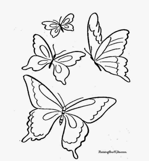 printable butterfly coloring pages  coloring pages for kids